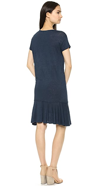 Graham & Spencer Linen Short Sleeve Dress