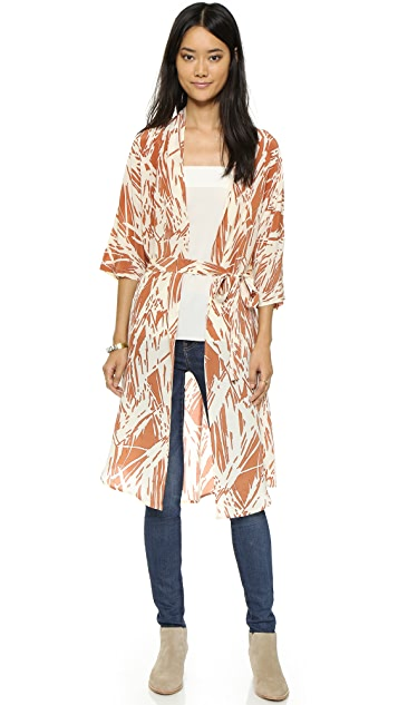 Ganni Happy Valley Kimono
