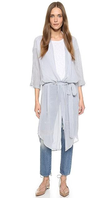 GANNI Park Row Kimono