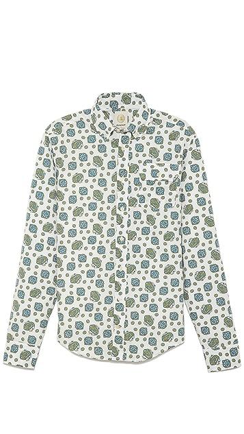 GANT Paisley poplin shirt Yi7Hyx