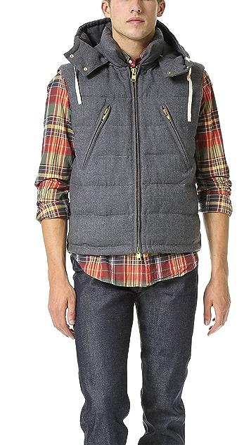 Gant Rugger Puffer Vest