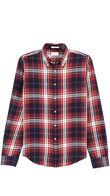 Gant Rugger Large Check Sport Shirt