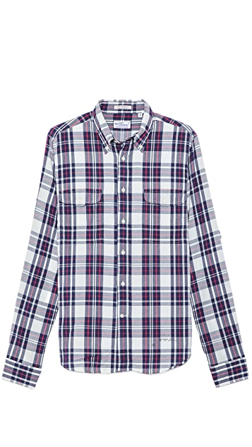 Gant Rugger Oxford Plaid Shirt