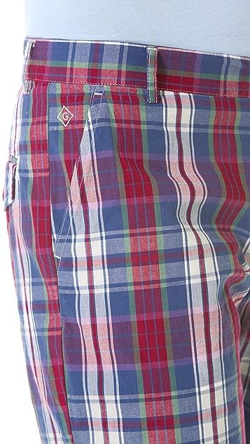 Gant Rugger Check Shorts