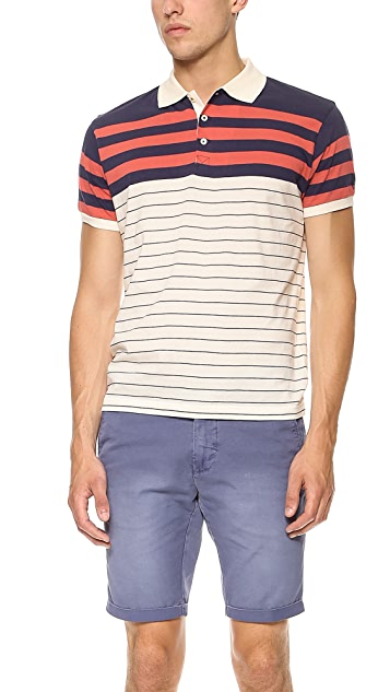 Gant Rugger Stripe Polo
