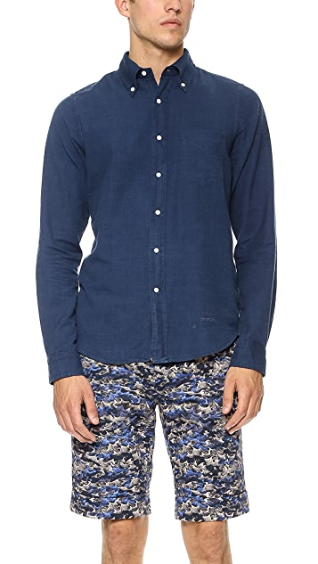 Gant Rugger Indigo Sport Shirt