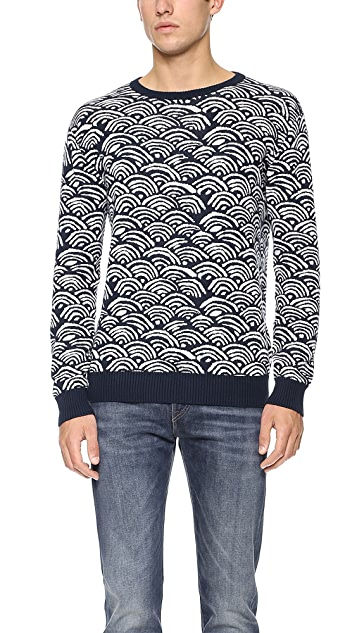 Gant Rugger Wave Sweater