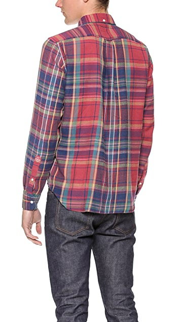Gant Rugger Windblown Flannel Shirt
