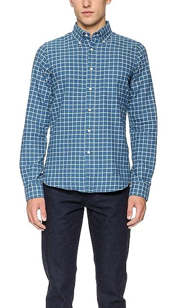 Gant Rugger Indigo Oxford Shirt