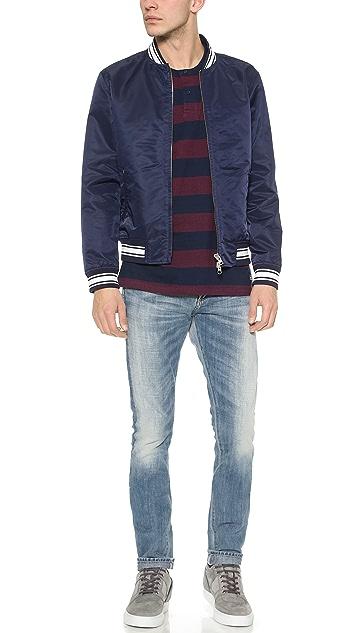 Gant Rugger Nylon Varsity Jacket