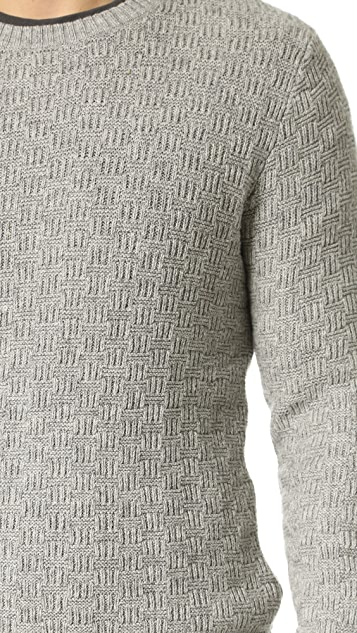 38274532122 The Basket Weave Sweater