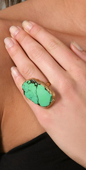 Gara Danielle Turquoise Ring