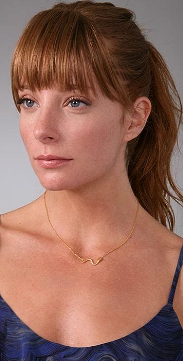 Gara Danielle Snake Necklace