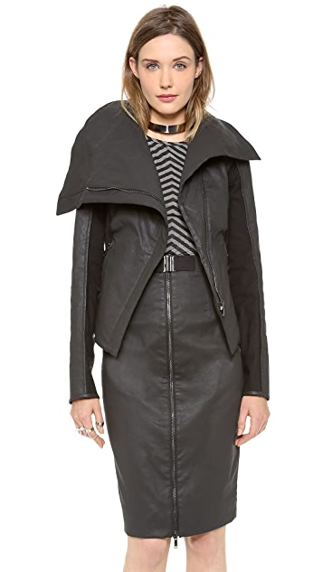 Gareth Pugh Shaped Moto Jacket