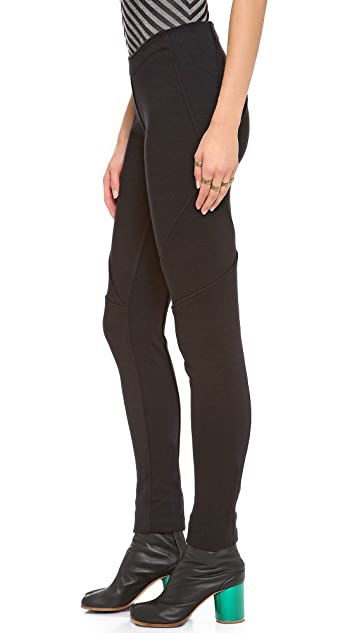 Gareth Pugh Seamed Sweatpant Leggings