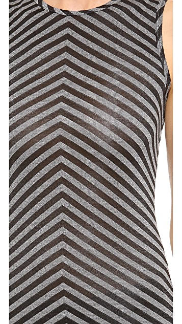 Gareth Pugh Chevron Top