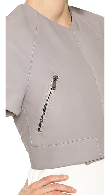 Gareth Pugh Leather Kimono Jacket