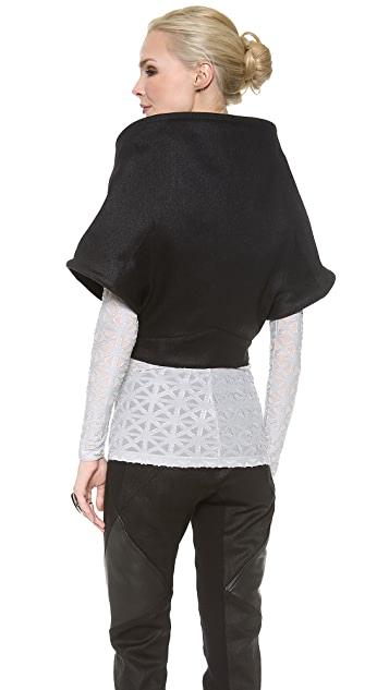 Gareth Pugh Short Sleeve Jacket