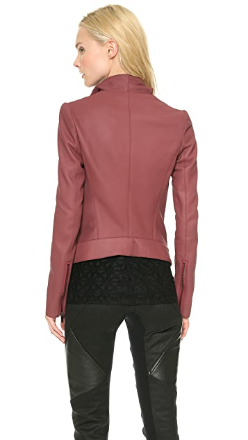 Gareth Pugh Leather Razor Jacket