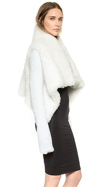 Gareth Pugh Пальто из короткой шерсти