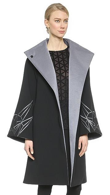 Gareth Pugh Wide Arm Coat