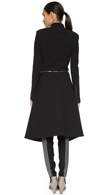 Gareth Pugh Neoprene Coat