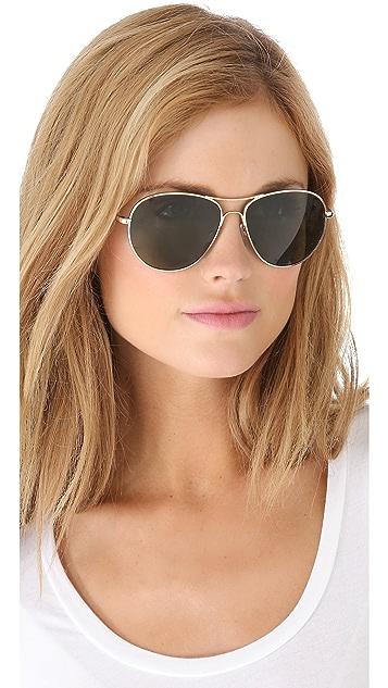 GARRETT LEIGHT Speedway Sunglasses