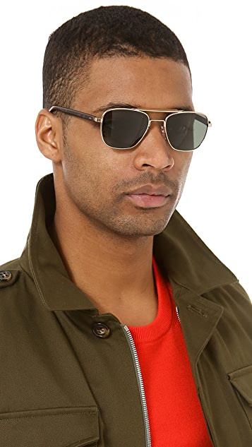 GARRETT LEIGHT San Juan Polarized Sunglasses