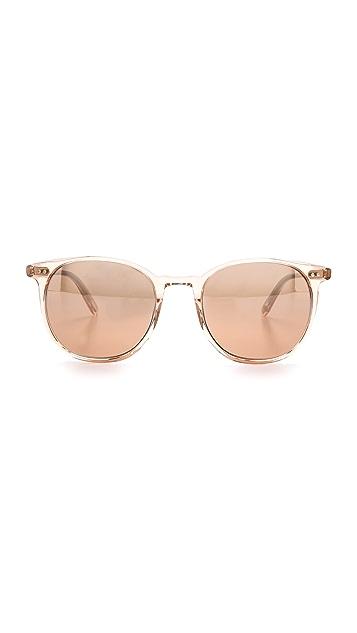 GARRETT LEIGHT Rialto Mirrored Sunglasses