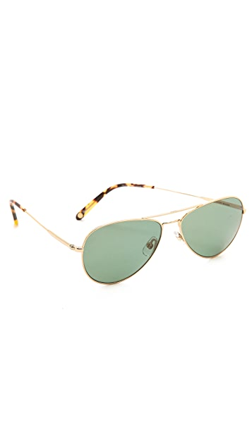 GARRETT LEIGHT Palms Polarized Sunglasses