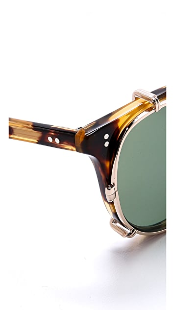 GARRETT LEIGHT MIlwood Clip Sunglasses