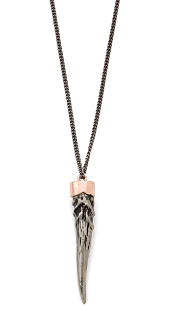 Gabriela Artigas Victorian Tusk Pendant Necklace