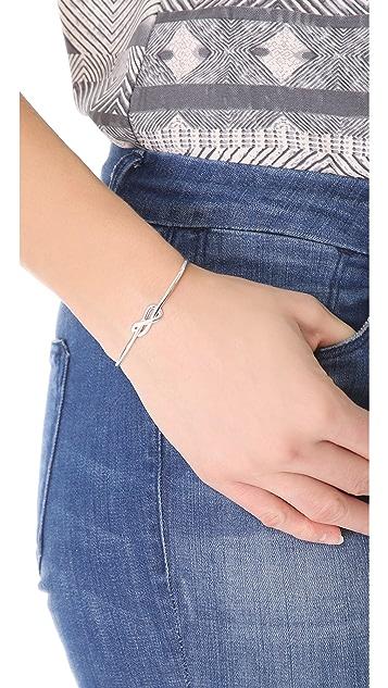 Gabriela Artigas Sterling Silver Knot Cuff