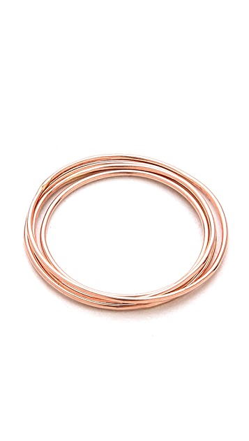 Gabriela Artigas Rose Simple Band Rings