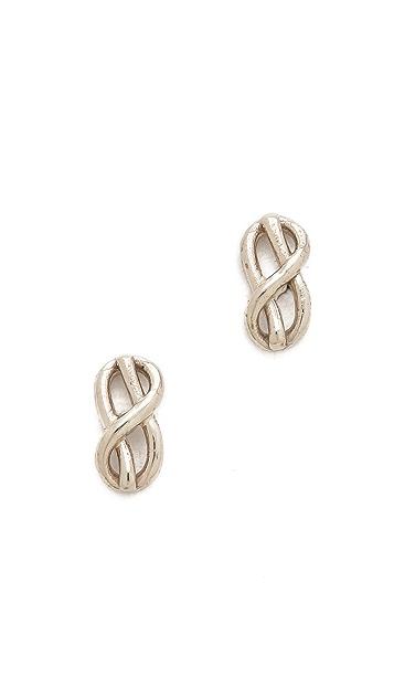 Gabriela Artigas Knot Stud Earrings