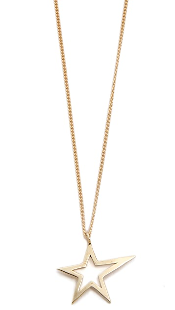 Gabriela Artigas Cutout Shooting Star Necklace
