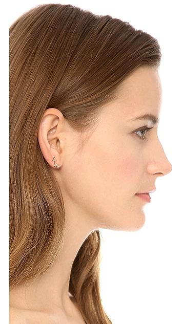Gabriela Artigas Triple Shooting Star Earrings