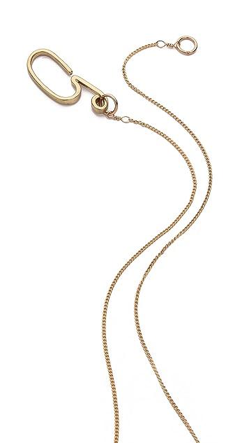 Gabriela Artigas Art Deco Sphere Necklace