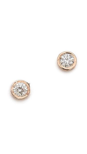 Gabriela Artigas Bezel Stud Earrings