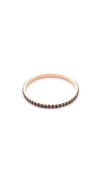 Gabriela Artigas 14k Rose Gold Gem Axis Ring