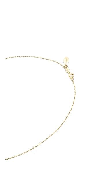 Gabriela Artigas Baby Bezel Necklace