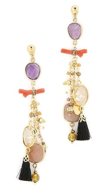 GAS Bijoux Serti Pondicherie Earrings