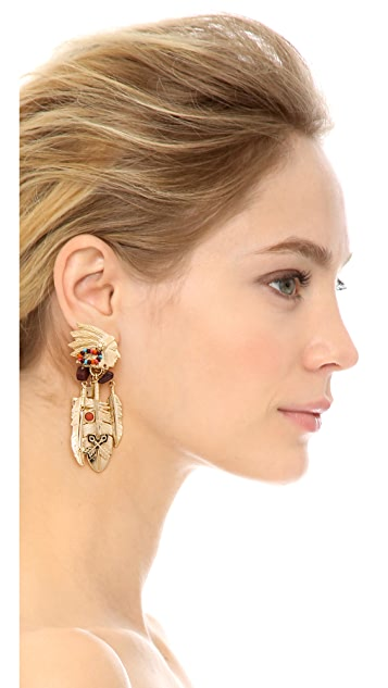 GAS Bijoux Santa Fe Clip On Earrings