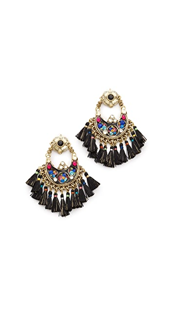 GAS Bijoux Eventails Earrings