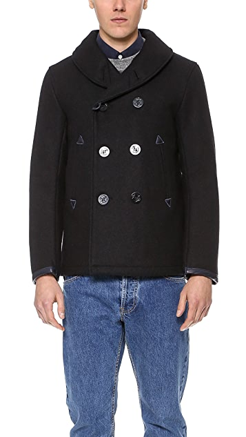 Golden Bear De Haro Pea Coat