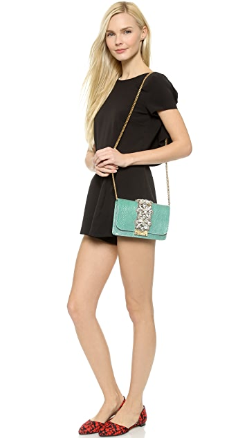 Gedebe Clicky Python Shoulder Bag