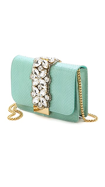 Clicky Python Shoulder Bag