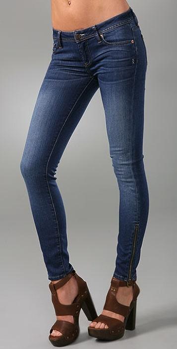 Genetic Los Angeles James Zipper Skinny Jeans