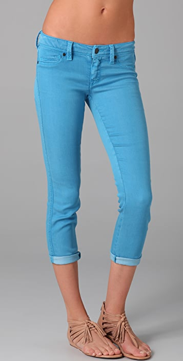 Genetic Los Angeles The Shya Cropped Cigarette Jeans