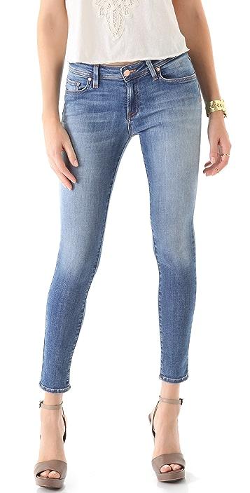 Genetic Los Angeles Raquel Crop Cigarette Jeans